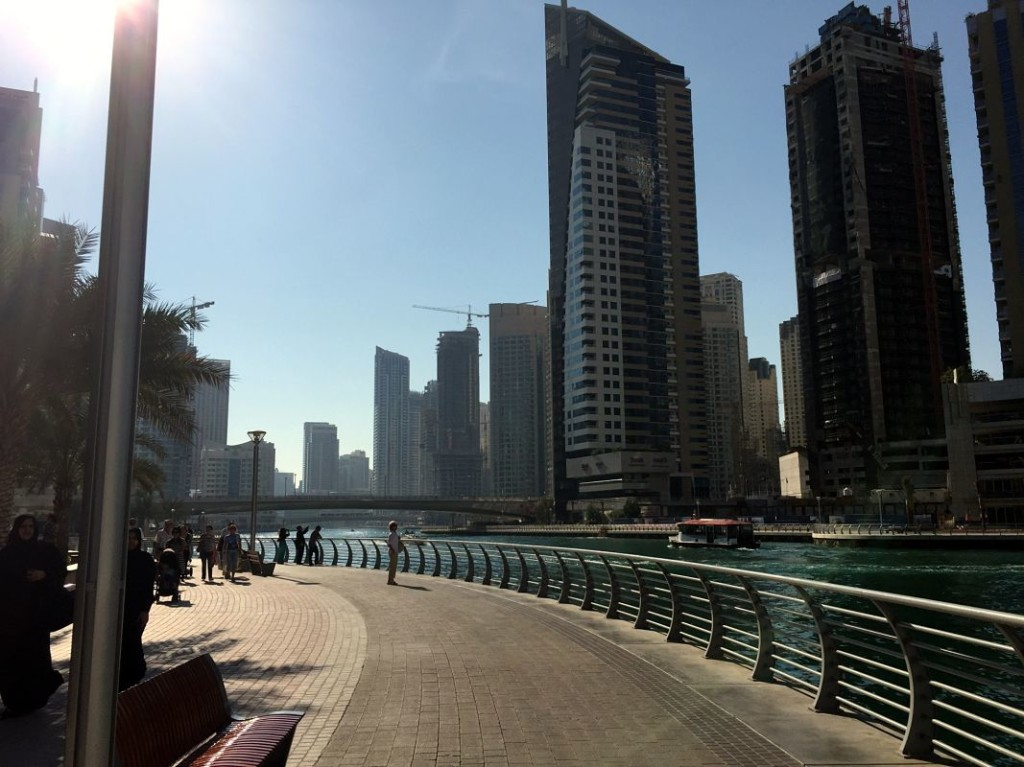 The Walk of Dubai marina