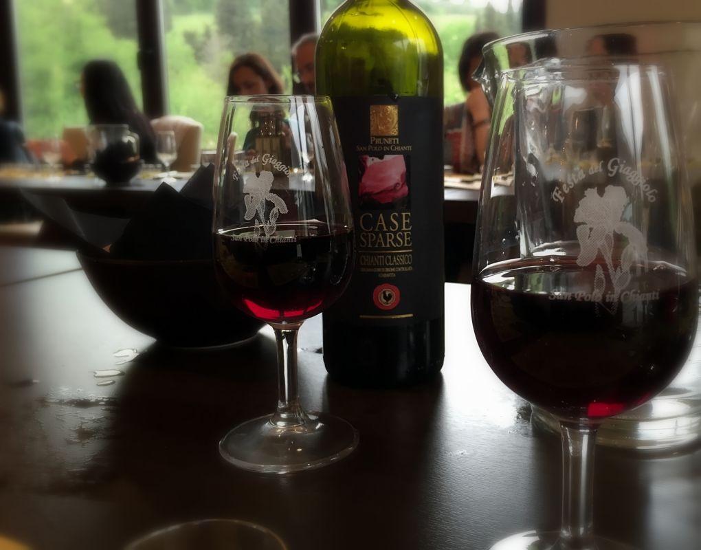 chianti classico wine vino san polo in chianti pruneti