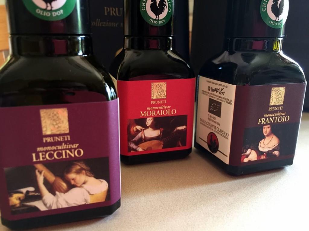 olive oil olio d'oliva san polo in chianti monocutlivar mignon collection pruneti