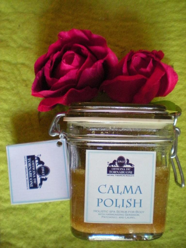Body Scrub Calma Polish by Officina Tornabuoni