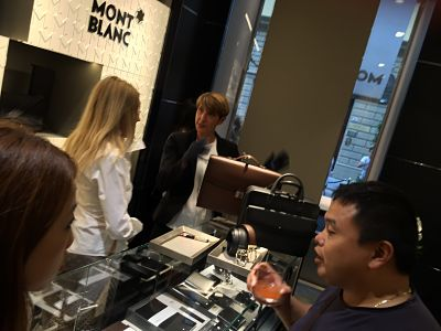 Montblanc Boutique in Florence