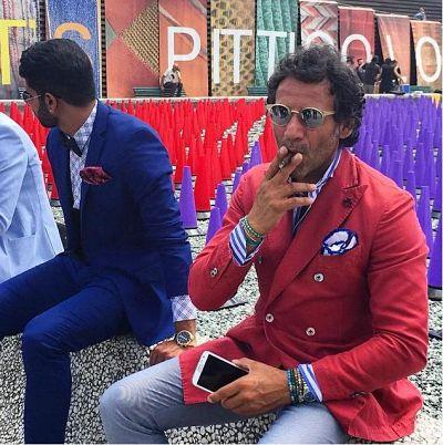 pitti 88 pitti immagine uomo outfit color