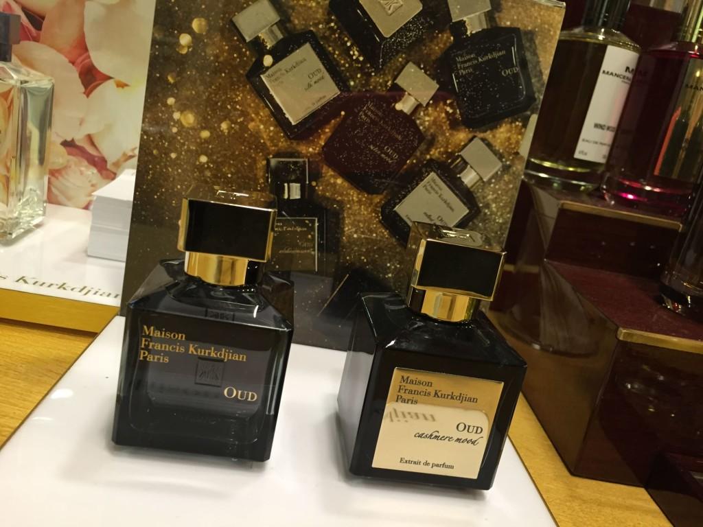 Francis Kurkdjian's perfumes