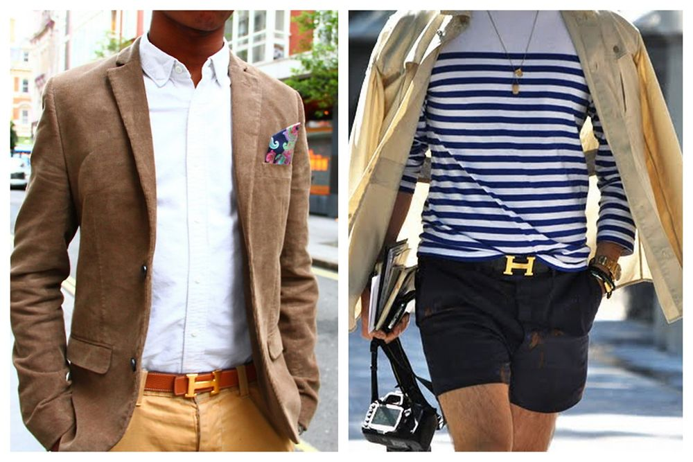3 general rules and 3 shopping tips on men's belts