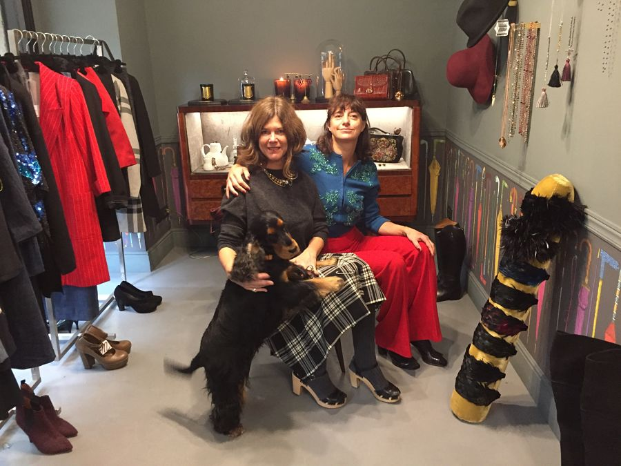 fashion stylist concept store vintage boutique florence dog