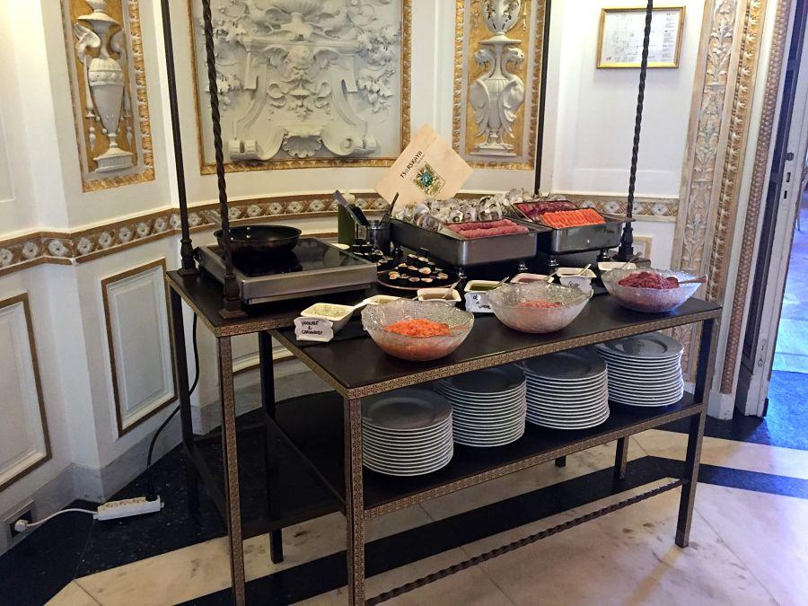 Villa Cora brunch florence french sushi buffet