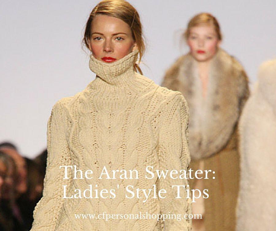 Aran sweater Ireland casual informal wool