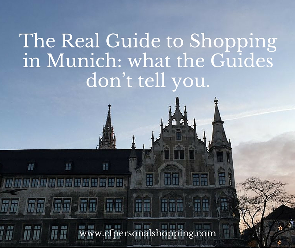 guida shopping munich