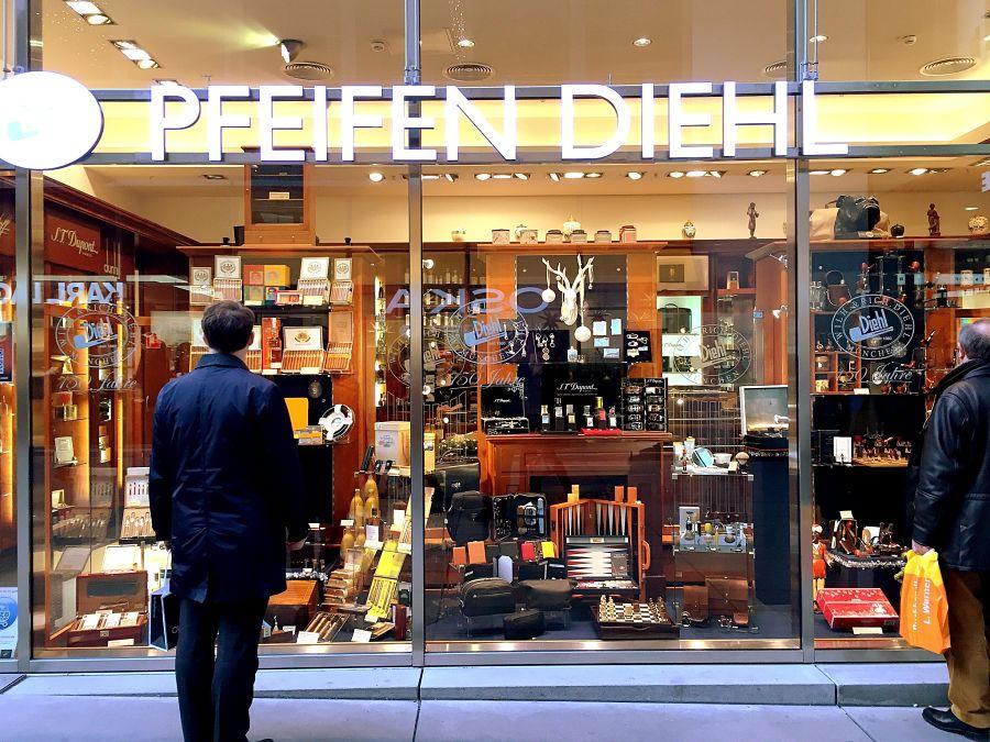 pfeifen diehl Munich shopping funf hofe