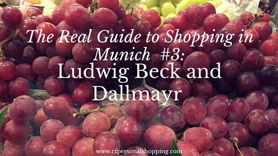 guide shopping munich dallmayr ludwig beck