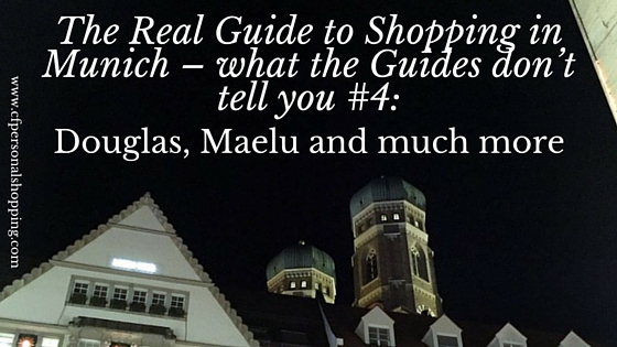shopping guide munich douglas maelu