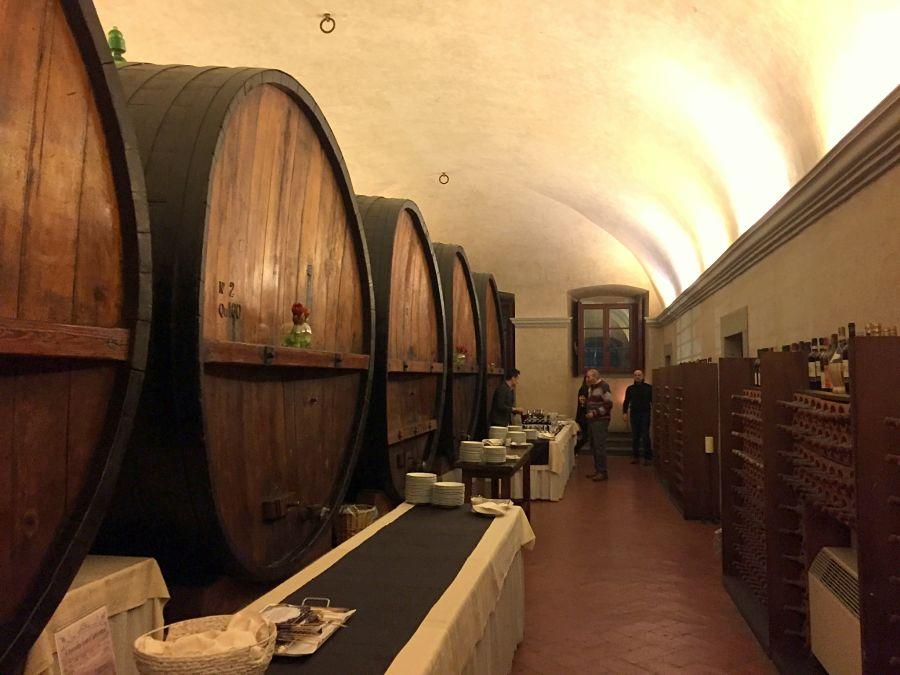 Toscana Medici Villa Ferdinanda Artimino Food