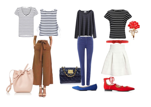 navy striped breton t-shirt