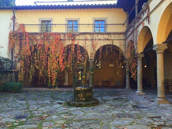 Autumnia villa casagrande Tuscany Toscana Figline