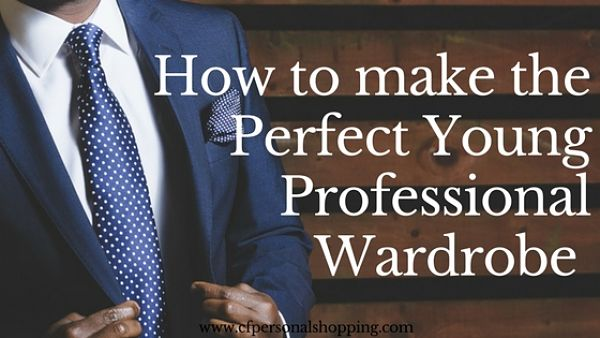 menswear young professional wardrobe