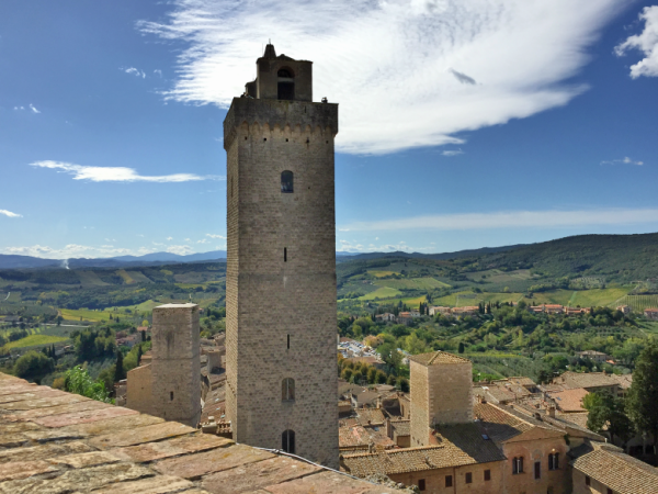 Tower Salvucci San Gimignano cfpersonalshopping.com