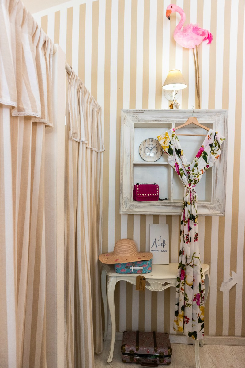 New Look boutique: the installations