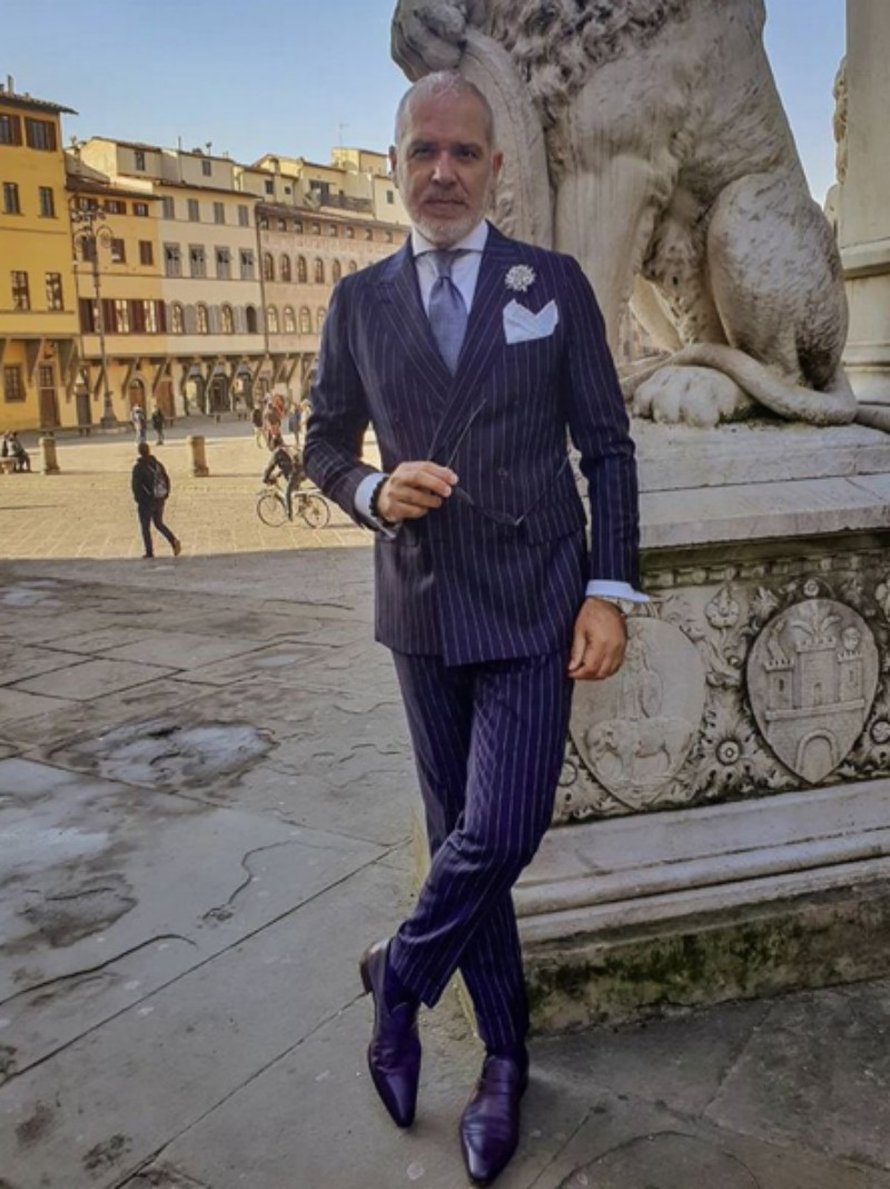 Suited Traveller Pitti Uomo