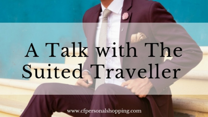 a talk with the suited traveller