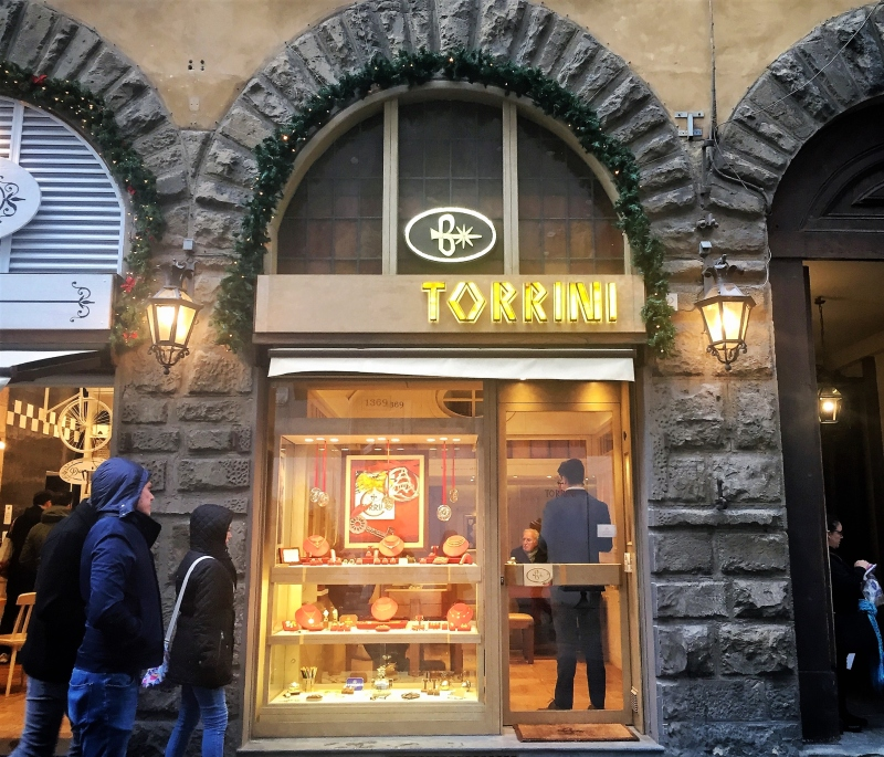 torrini watches boutique in florence