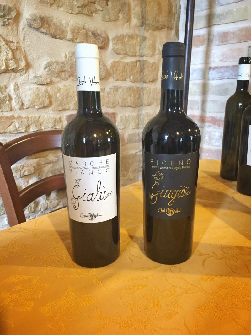 I loved the atmosphere at Casale Vitali! Here are some of their wines...