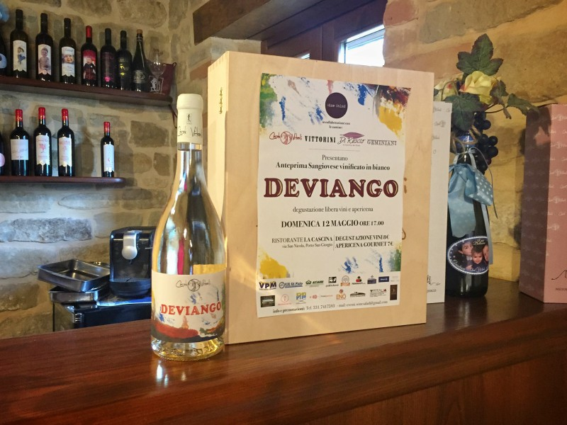 Deviango, the new wine