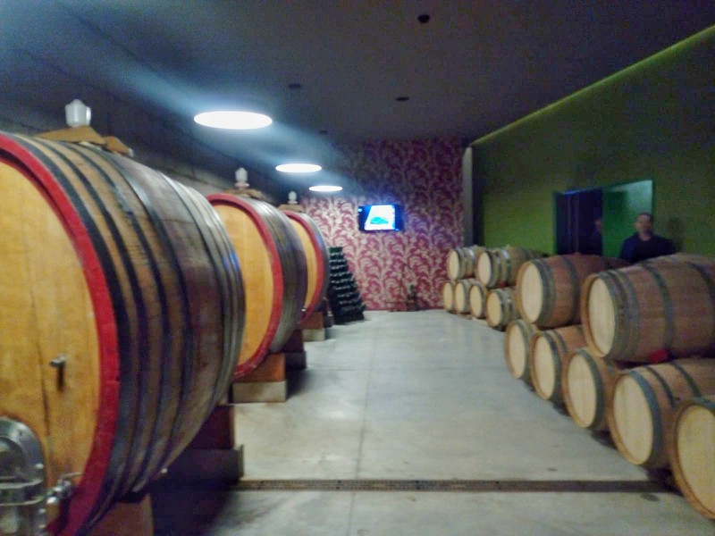 Visit to the Di Ruscio Winery