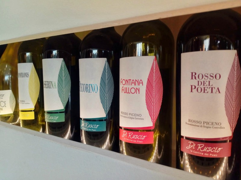 Some of the Di Ruscio Wines