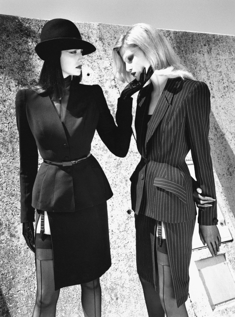 Thierry Mugler Campaign by Helmut Newton