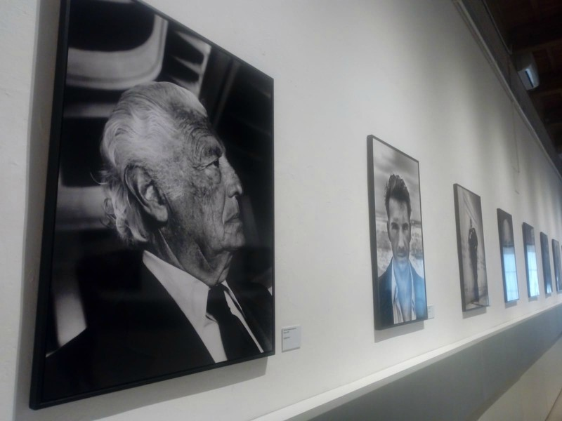 The Portrait Hall in San Gimignano Contemporary Art Gallery