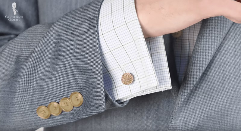 Go for a French cuffs shirt