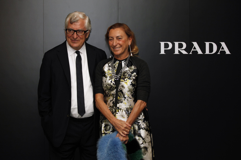 Patrizio Bertelli wears a Skinny Tie