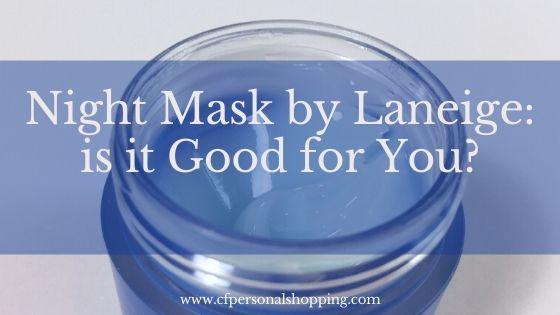 night mask laneige