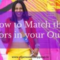 how to match colors