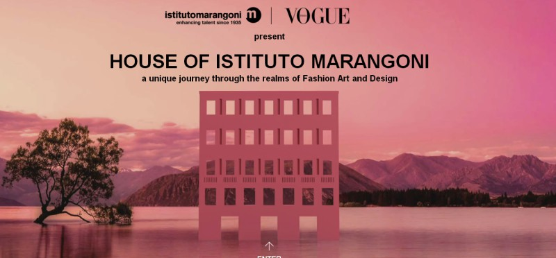 Digital fashion show in florence