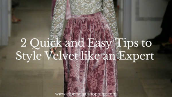 Quick and Easy Tips to Style Velvet like an Expert